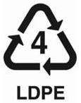 LDPE 4 Arti Simbol Kode Segitiga Pada Kemasan Plastik